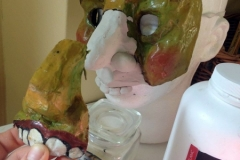Animacy Theatre Collective Mask Construction.