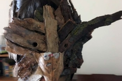 Animacy Theatre Collective Wood Mask Workshop.